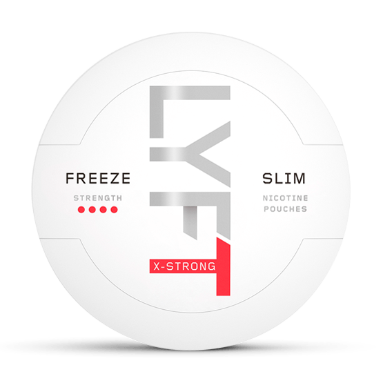 LYFT Freeze X-strong slimall white portion
