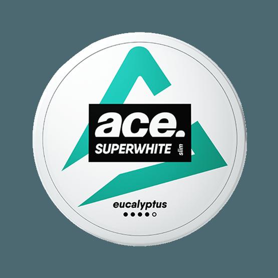 ACE Eucalyptus All White Pouch
