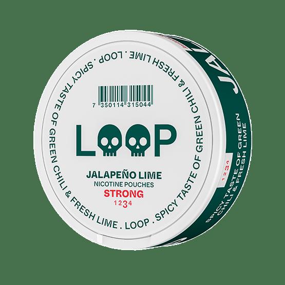 Loop Jalapeno Lime Strong Slim Portion