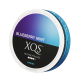 XQS Blueberry Mint Slim All White Nicotine Pouches