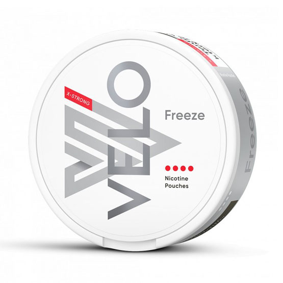 VELO Freeze X All White Portion Strong