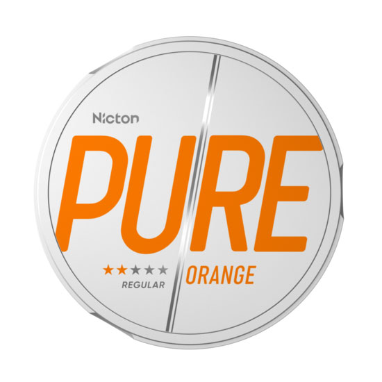 Pure By Nicton Orange Extra Strong