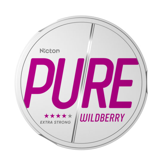 Pure By Nicton Wildberry Extra Strong