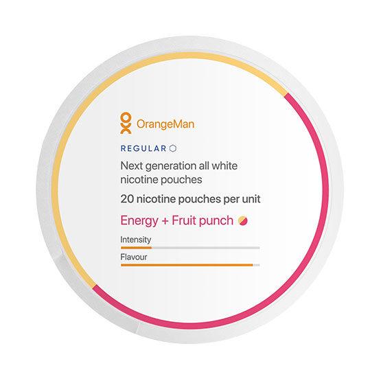 OrangeMan Energy Fruit Punsch