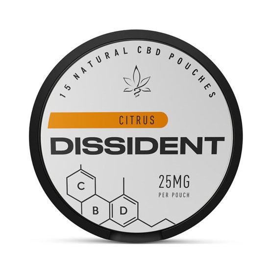 DISSIDENT CBD 25mg Citrus Slim Portion