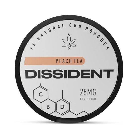 DISSIDENT CBD 25mg Peach Tea Slim Portion